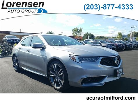 Pre-Owned 2019 Acura TLX w/Advance Pkg 4dr Car in Milford