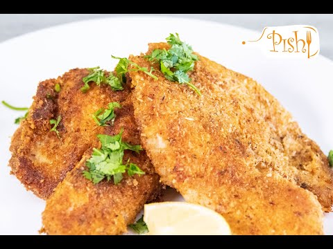 Almond Flour & Cheese Crusted Tilapia | Low Carb Veggie