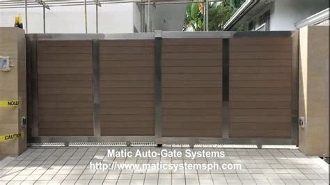 Double-Run Automatic Gate Sliding Gate 7075320865 Rolling