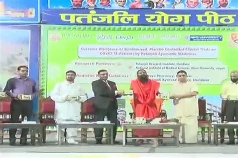 Patanjali Launches Coronil Kit to Treat COVID-19, 'Stop