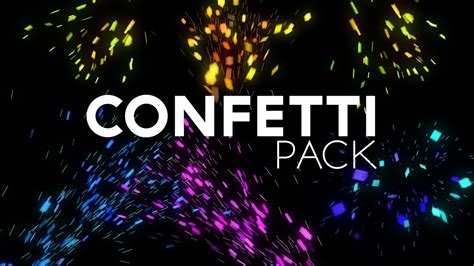 FREE Confetti After Effects Project File [Download] - YouTube