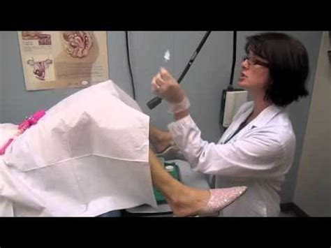 Pap Test - A step-by-step look at what happens during the