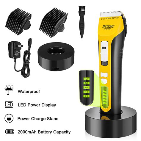 ZPSTRONG 25W Electric Hair Trimmer Barber Professional