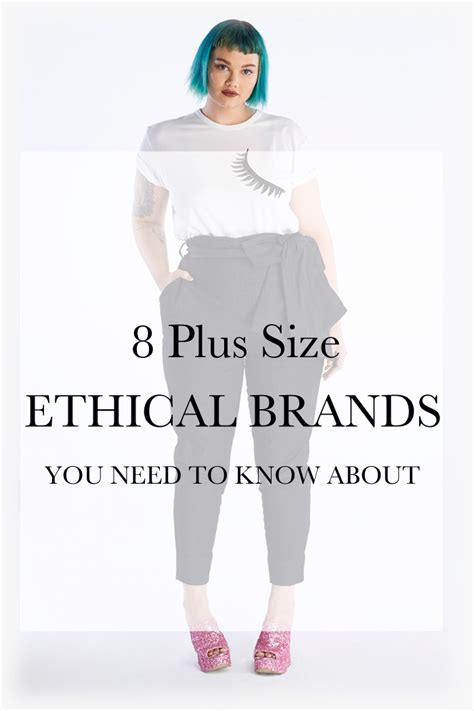 8 Plus Size Ethical and Eco-Friendly Clothing Brands | My