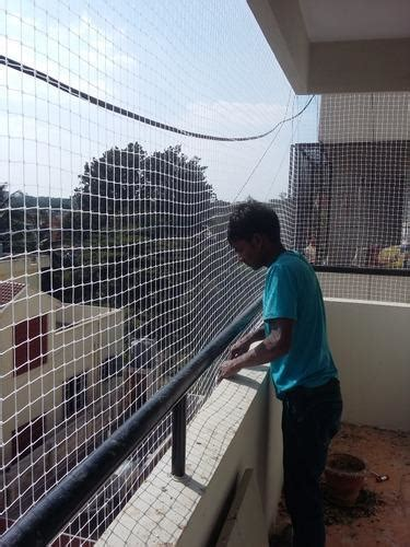 Balcony Safety Nets at Rs 13/square feet(s) | सुरक्षा का