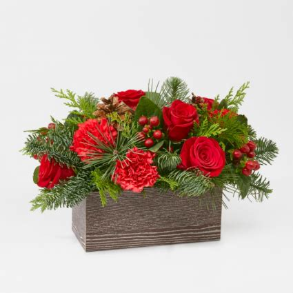 The FTD Christmas Cabin Bouquet in Livermore, CA - KNODT'S