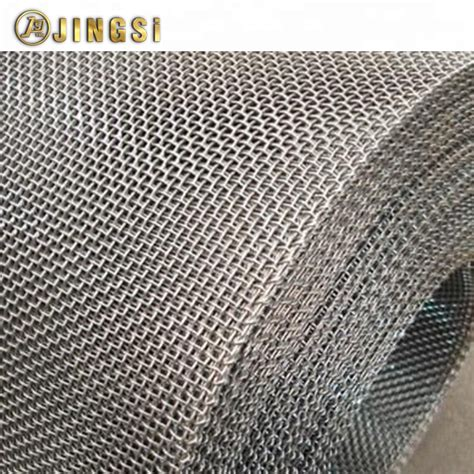 14 Gauge Stainless Steel Crimped Wire Mesh In Roll_OKCHEM