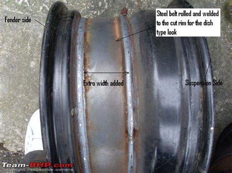 Modifying original Banded Steel rims for the Classic