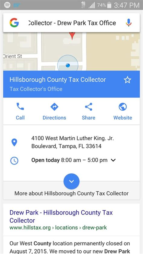 Hillsborough County Tax Collector - Departments of Motor