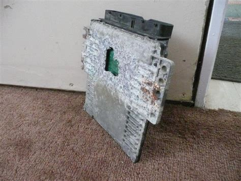 2004 Nissan Quest Computer System Corroded And Undrivable