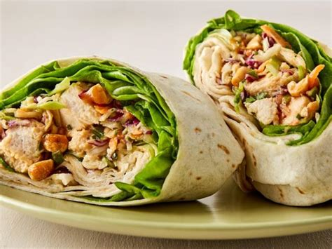 Spicy Yogurt Chicken Wrap Recipe and Nutrition - Eat This Much