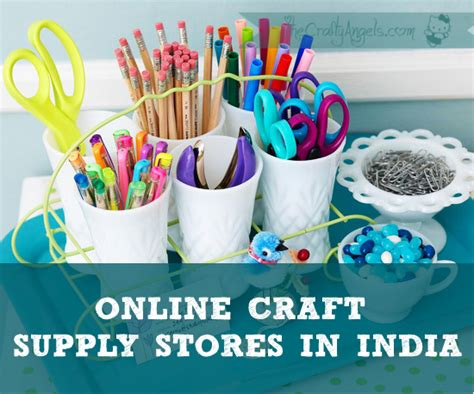 Online Craft Supply Shops India - The Crafty Angels