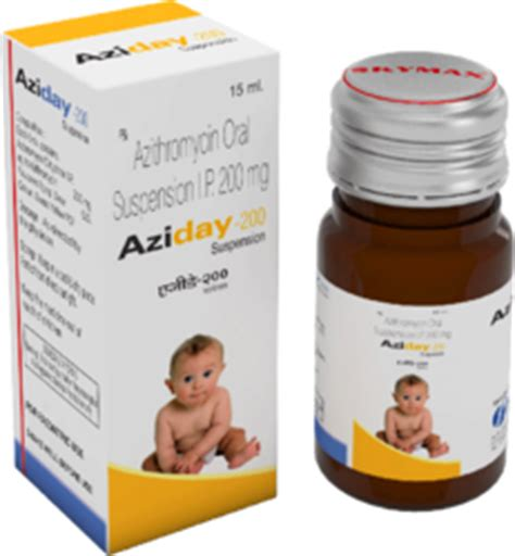 Azithromycin Syrup - Manufacturers, Suppliers & Wholesalers