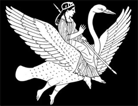 Bloom: Aphrodite riding her Swan
