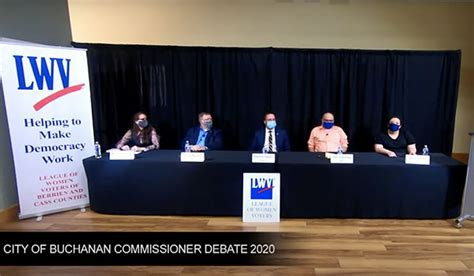 Buchanan City Commission candidates partake in forum