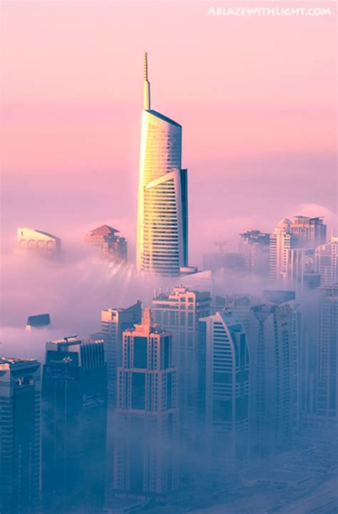Dubai Gets Turned Into A 'Dreamy City Above Clouds', With