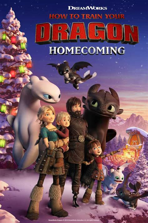 How to Train Your Dragon Homecoming holiday special to air