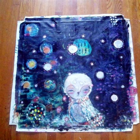 Whimsical Owls and Other Mixed Media Art From the Heart by