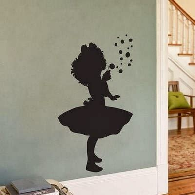 Wall Decal Quotes: Silhouette Paintings Transform Wallls