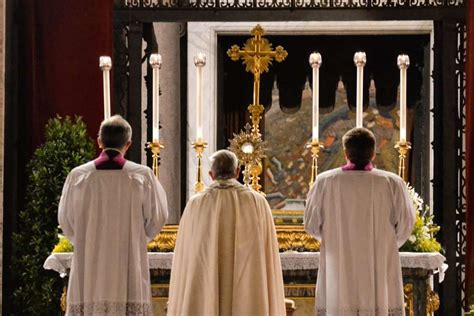 In Jesus' cleansing of the Temple, Pope Francis sees a