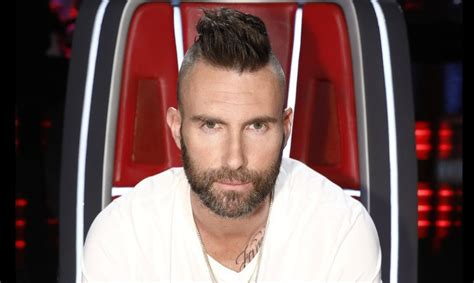 Adam Levine Gives Blake Shelton a Mohawk For 'The Voice