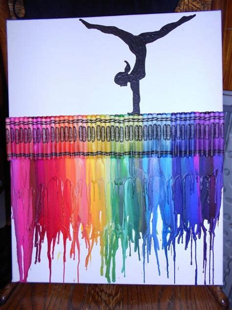 30+ Cool Melted Crayon Art Ideas - Hative